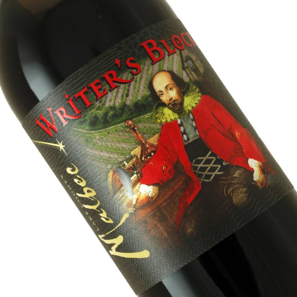 Writer's Block 2015 Malbec, Lake County California
