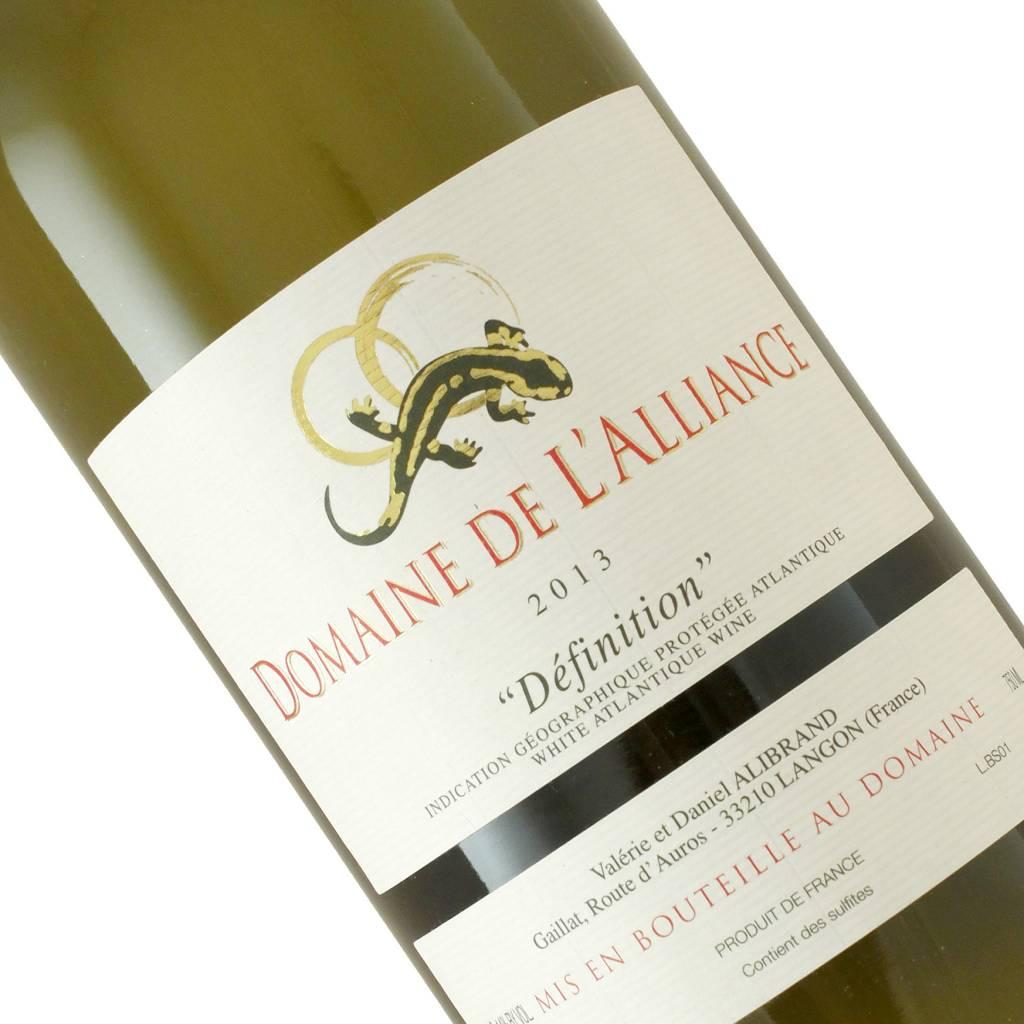 """Domaine De L'Alliance 2013 """"Definition"""" Atlantique Blanc, Loire Valley"""