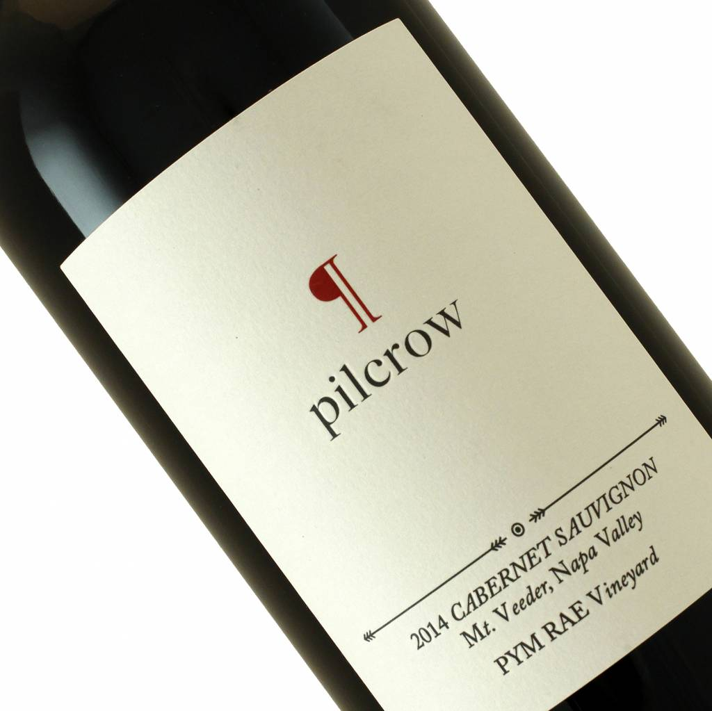 Pilcrow 2014 Cabernet Sauvignon Mt Veeder, Napa Valley