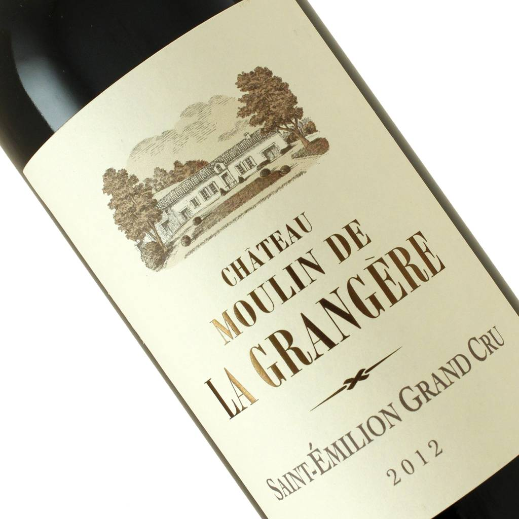 Chateau Moulin De La Grangere 2012 Saint-Emilion Grand Cru Bordeaux