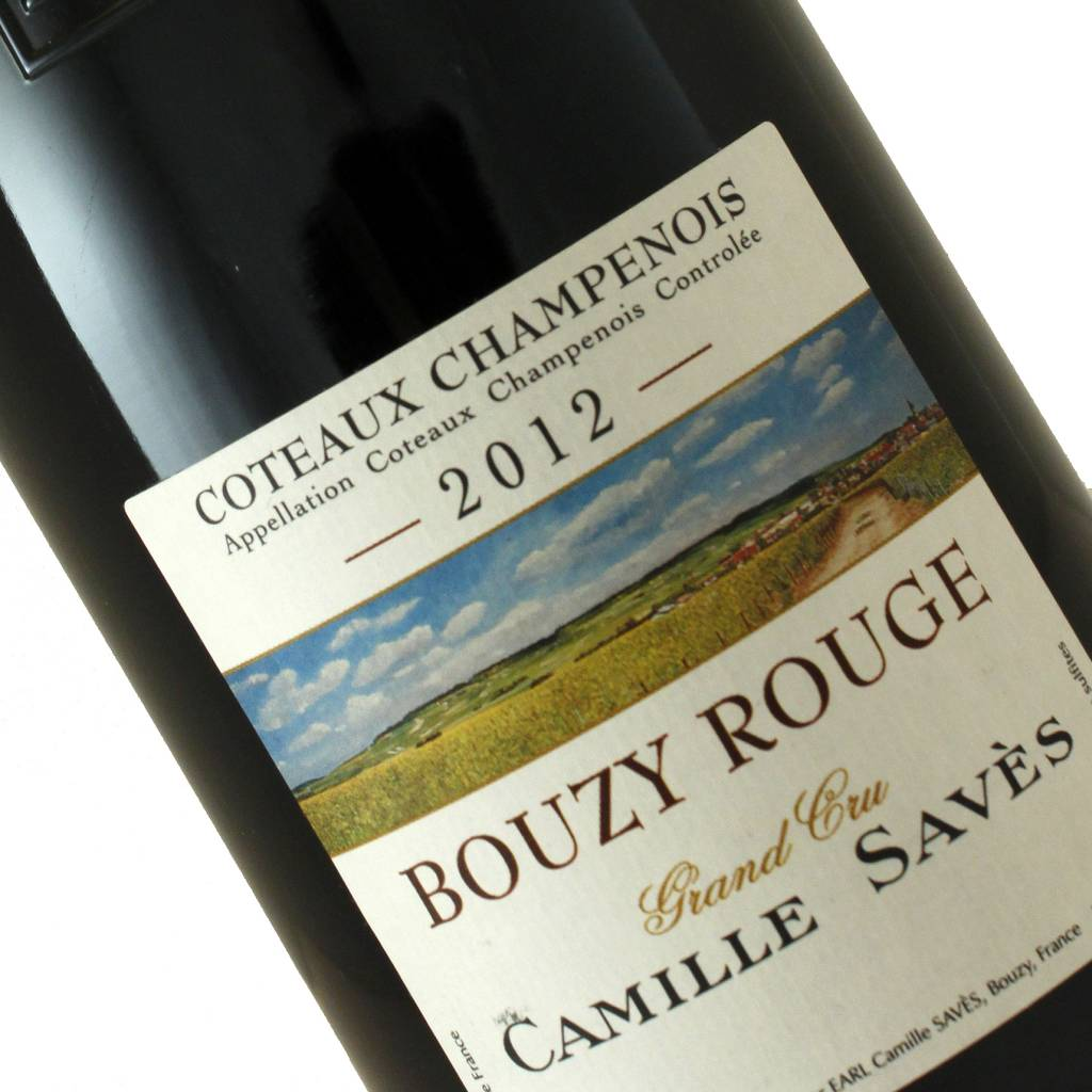 Camille Saves 2012 Bouzy Rouge Champagne, Still Pinot Noir, Champagne