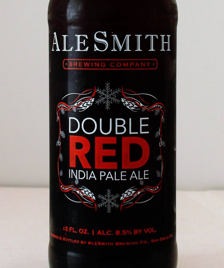 "AleSmith ""Double Red"" IPA, California - 12oz"