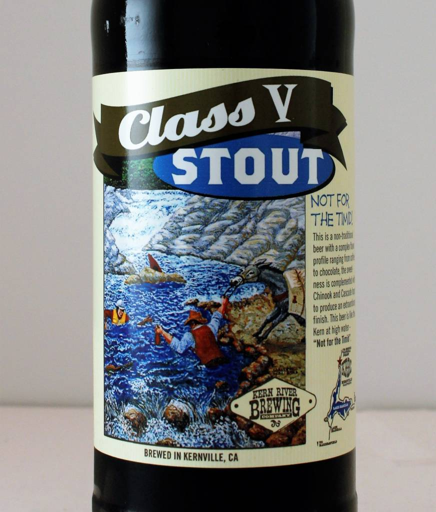 "Kern River Brewing ""Class V Stout,"" California"
