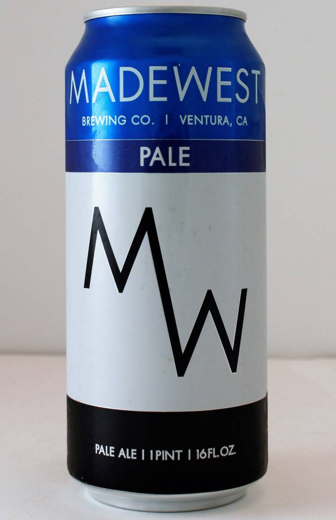"""Madewest """"Pale Ale"""", California, - 16oz can"""