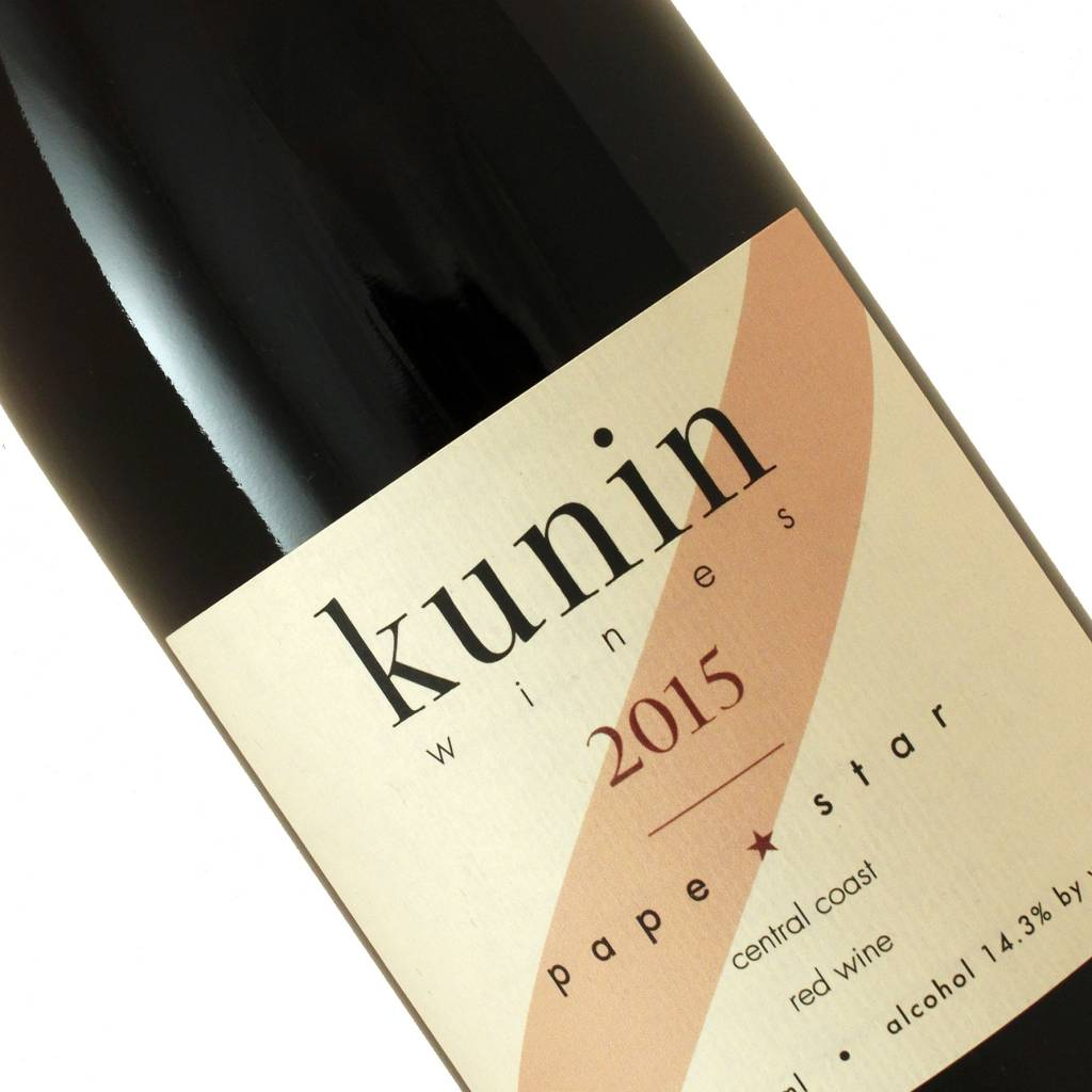 Kunin 2015 Pape Star Red Wine, California