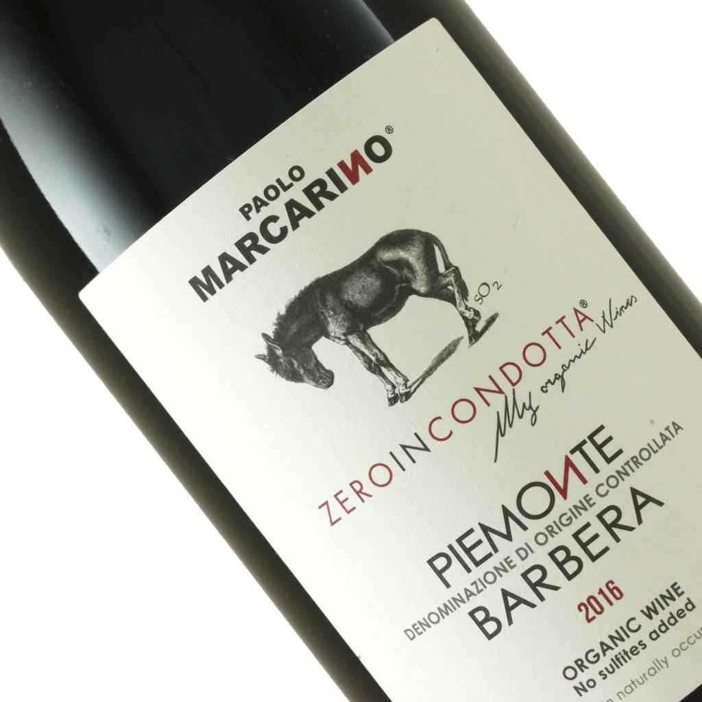 Paolo Marcarino 2016 Barbera Zeroincondotta, Piedmont