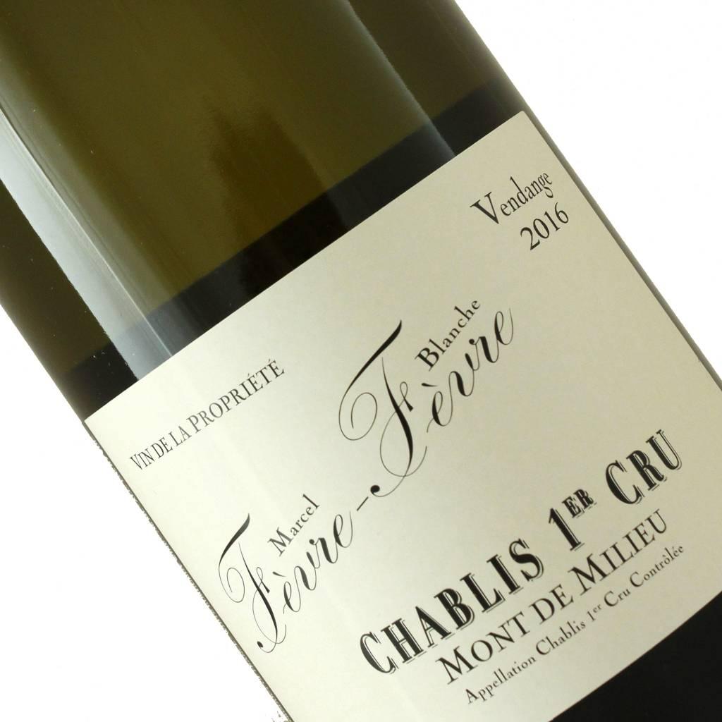 Marcel et Blanche Fevre 2016 Chablis 1er Cru Mont De Milieu, Burgundy