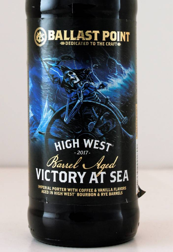 "Ballast Point Brewing ""Coconut Victory at Sea"" Stout, California"