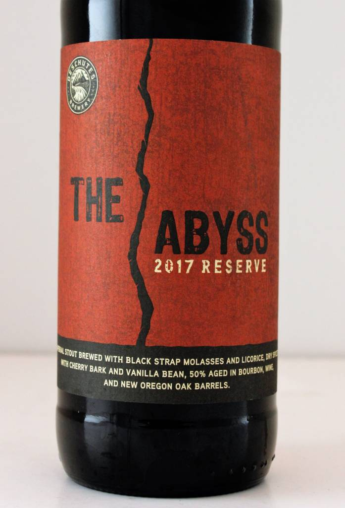 """Deschutes Brewing """"2017 The Abyss"""" Imperial Stout, Oregon"""