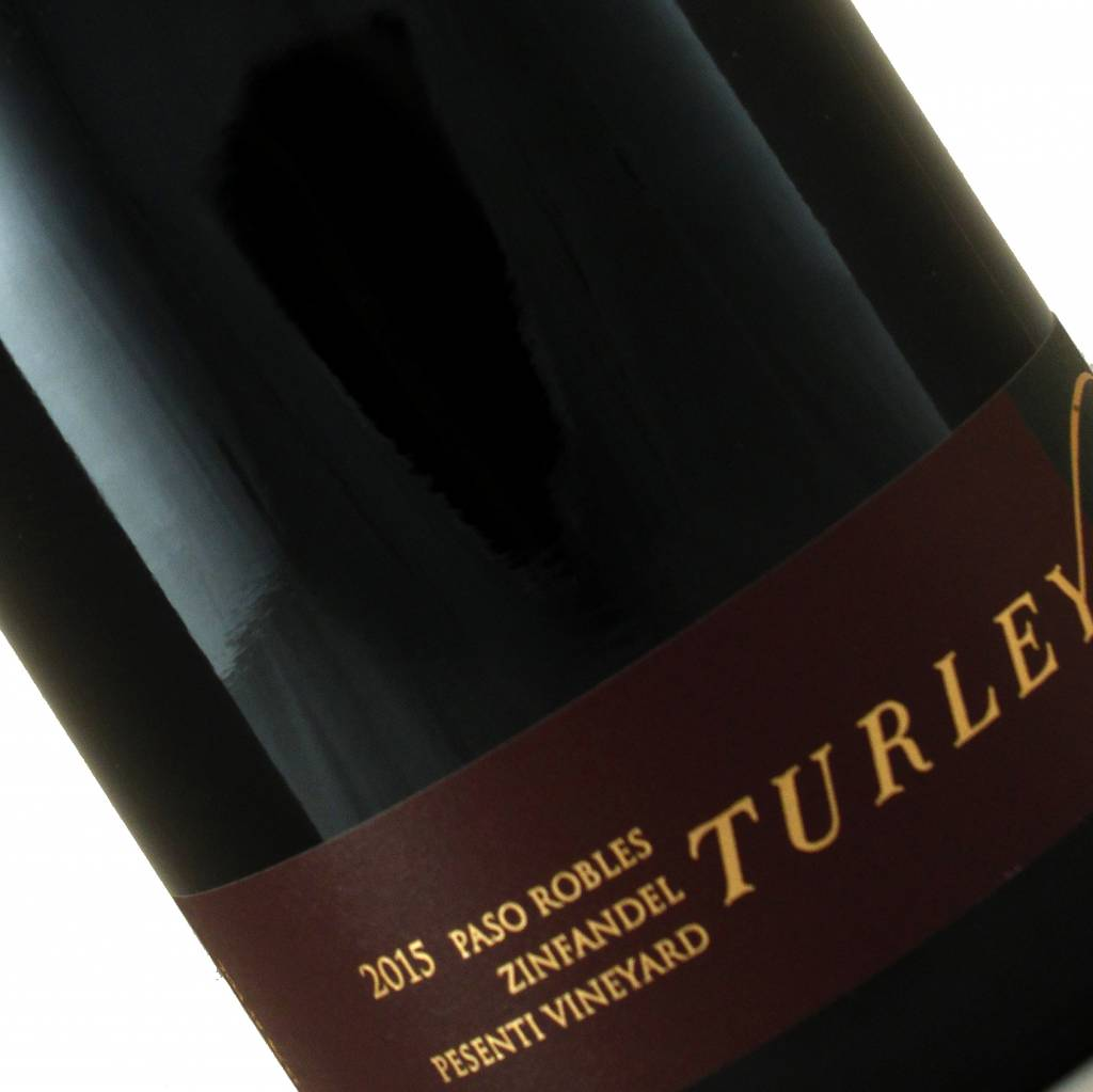 Turley 2015 Zinfandel Pesenti Vineyard, Paso Robles