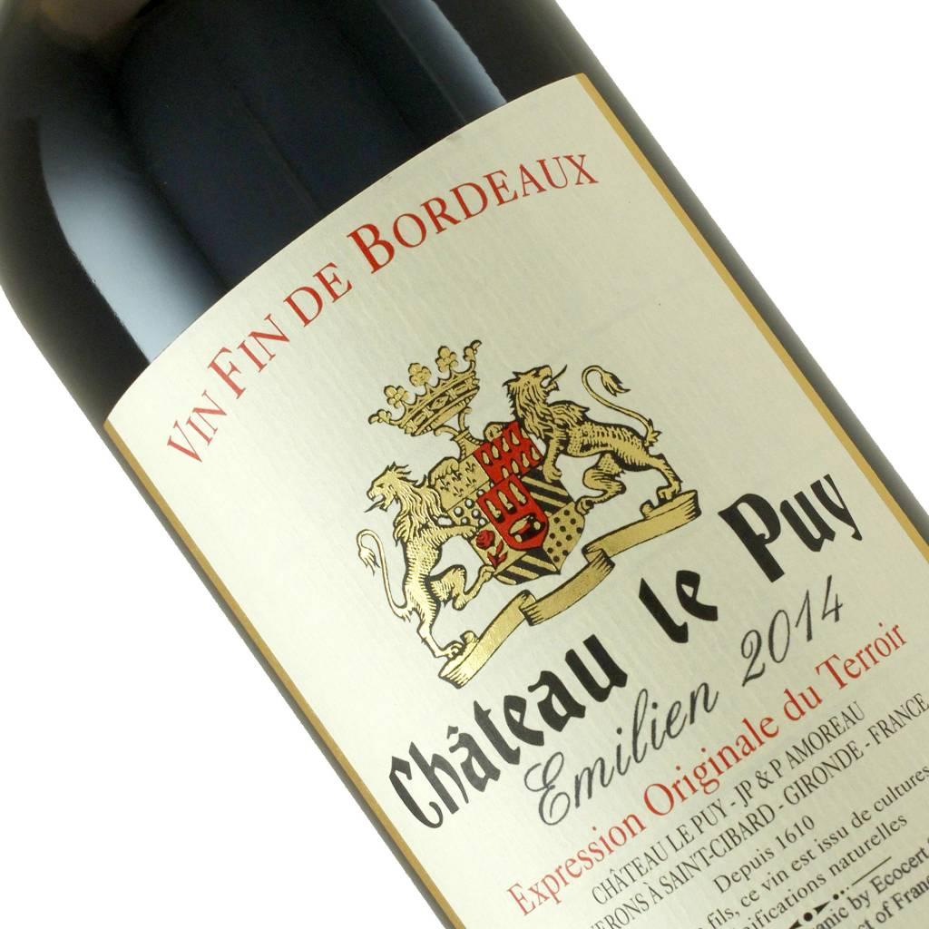 """Chateau le Puy 2014 """"Emilien"""" Bordeaux"""