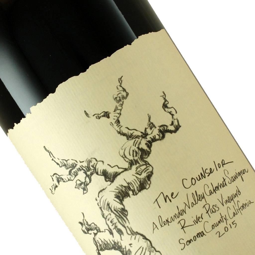 """Nick Goldschmidt 2015 Cabernet Sauvignon """"The Counselor"""" River Pass Vineyard, Alexander Valley"""