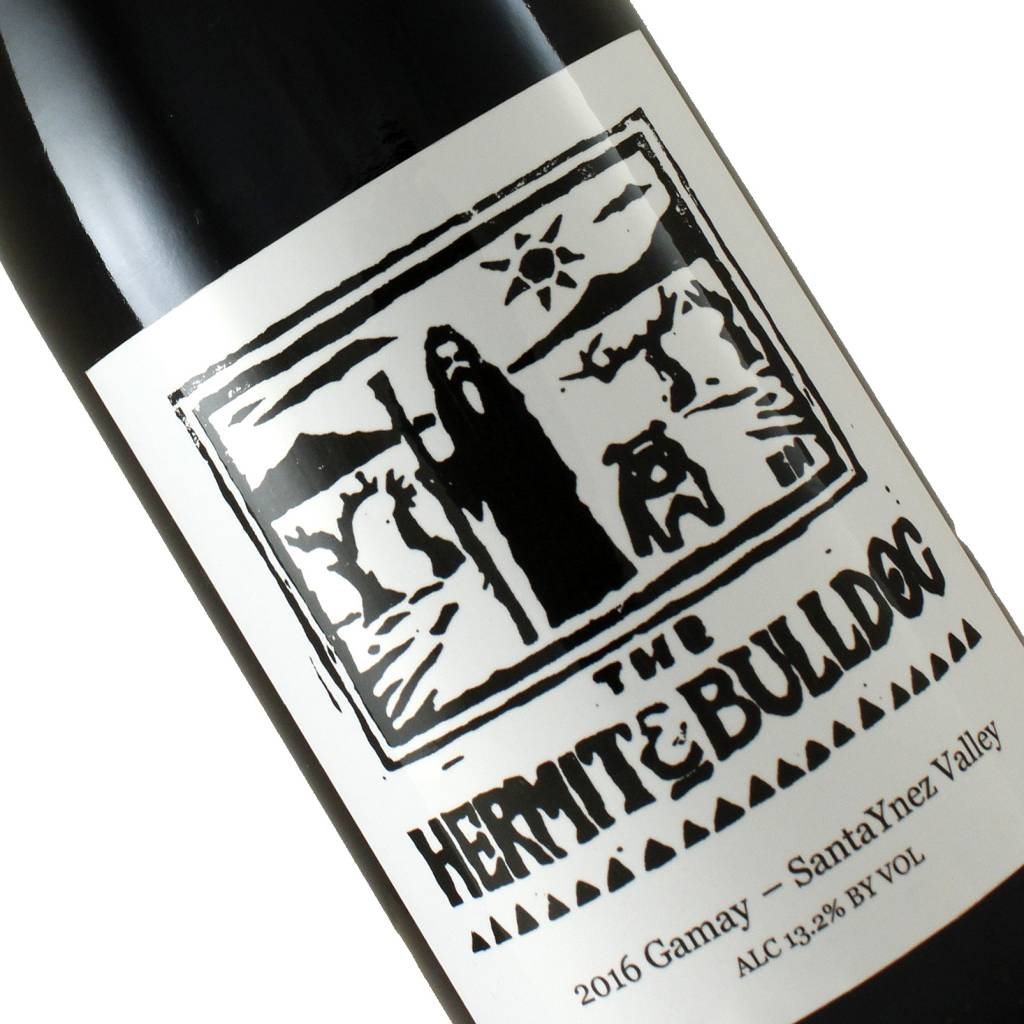 The Hermit & Bulldog 2016 Gamay, Santa Ynez Valley