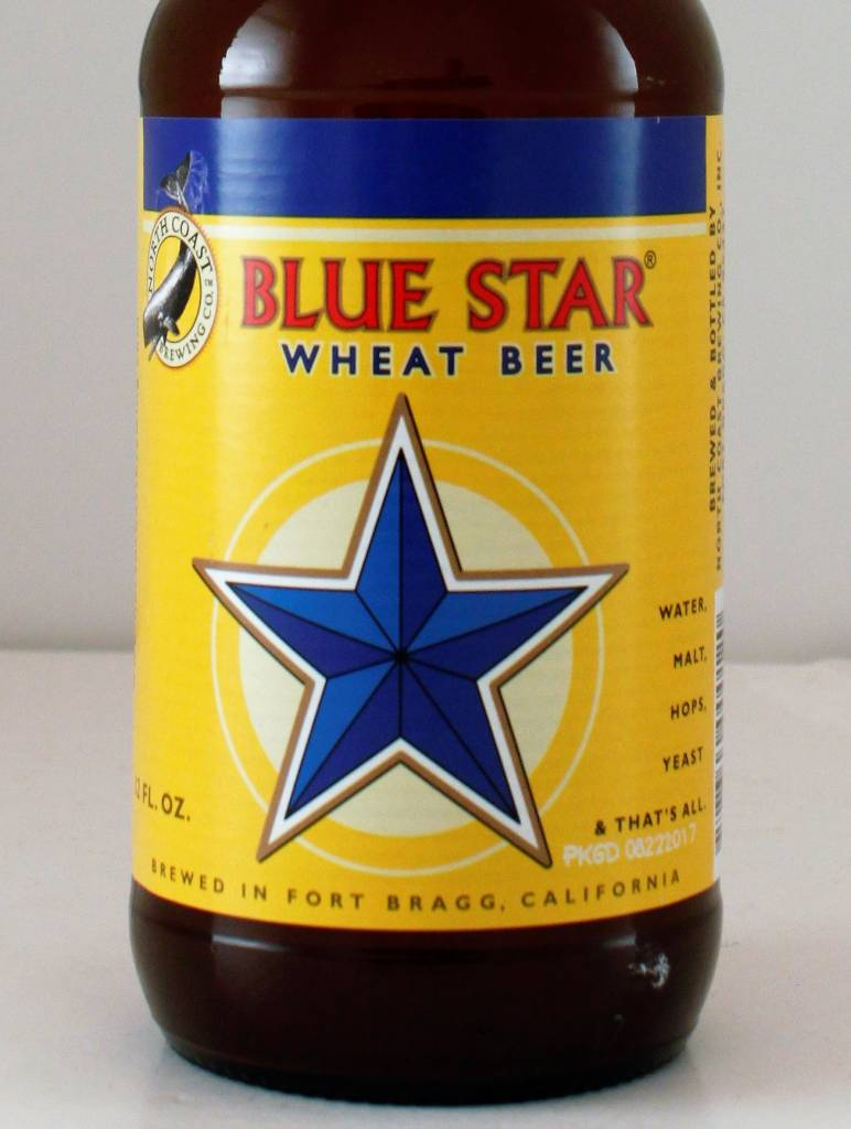"North Coast ""Blue Star"" Wheat Beer"