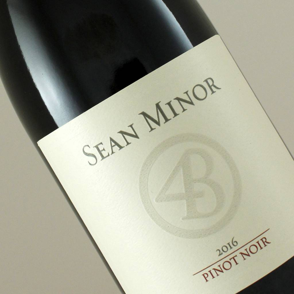 "Sean Minor 2016 Pinot Noir ""Four Bears"" Central Coast"