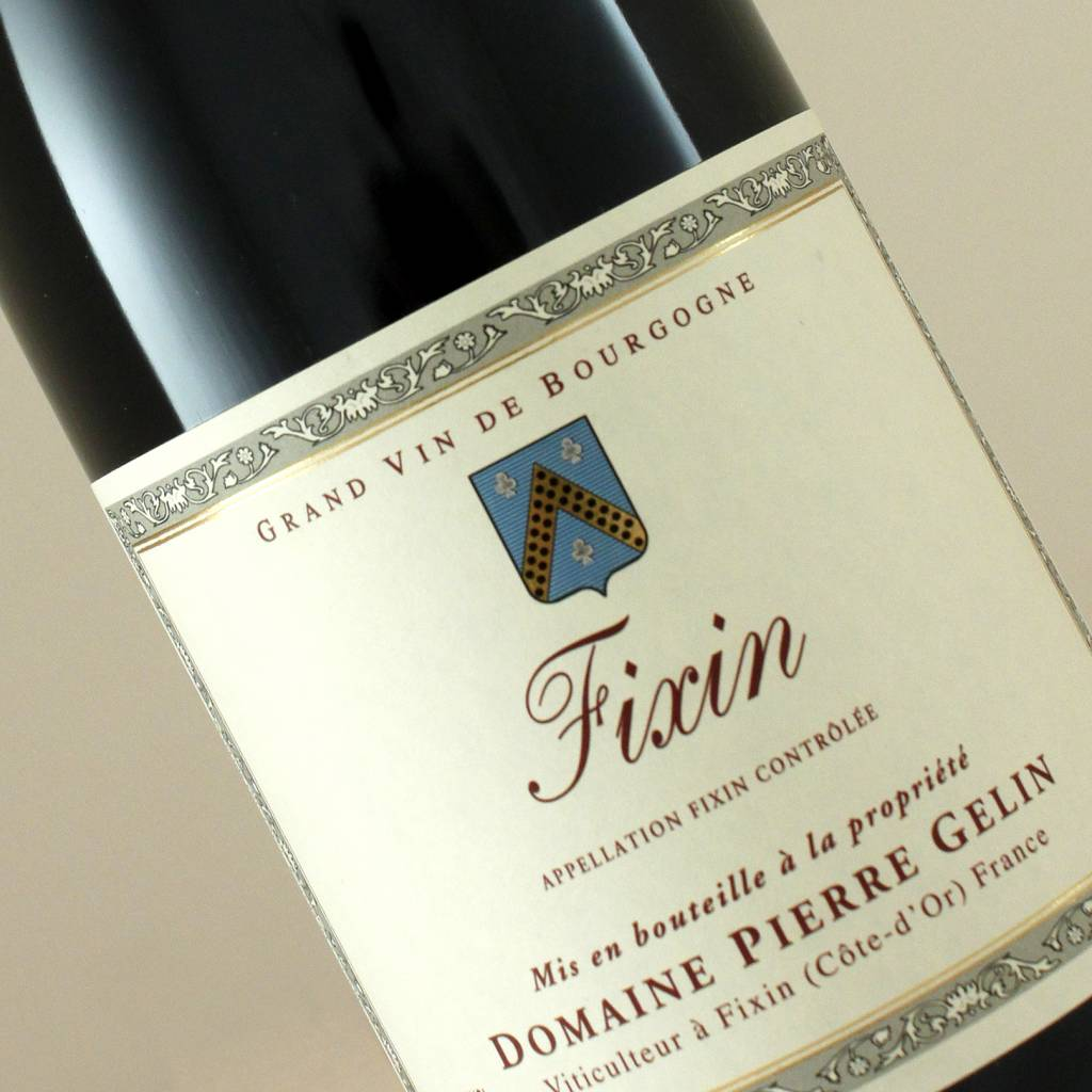 Domaine Pierre Gelin 2014 Fixin Red Burgundy
