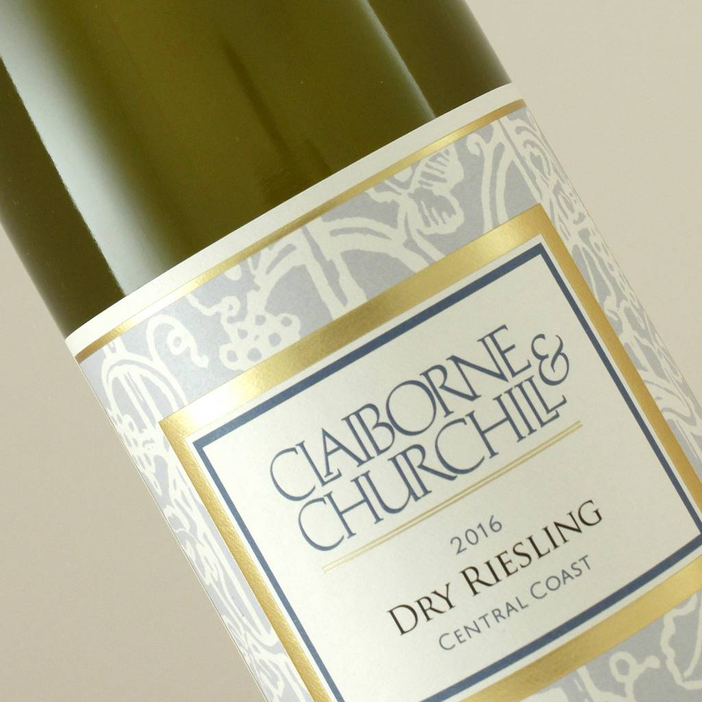 Claiborne & Churchill 2015 Dry Riesling, Central Coast, California