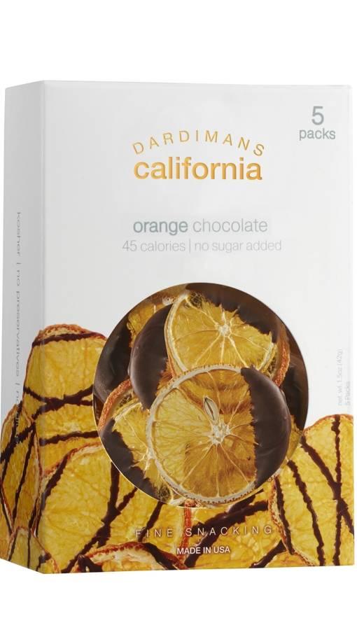 California Crisps Orange Chocolate Drizzled Snack Box