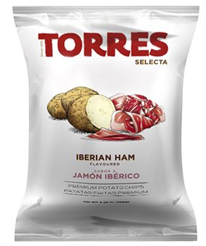 Torres Iberian Ham Flavored Potato Chips 1.76oz