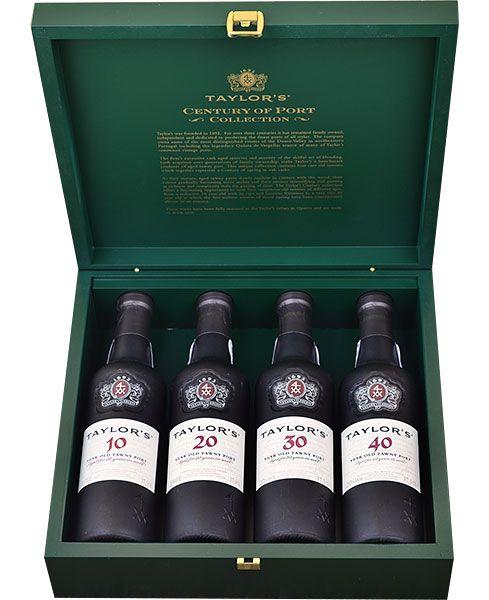 Taylor Fladgate Century of Port 4 Bottle Set 375ml bottle