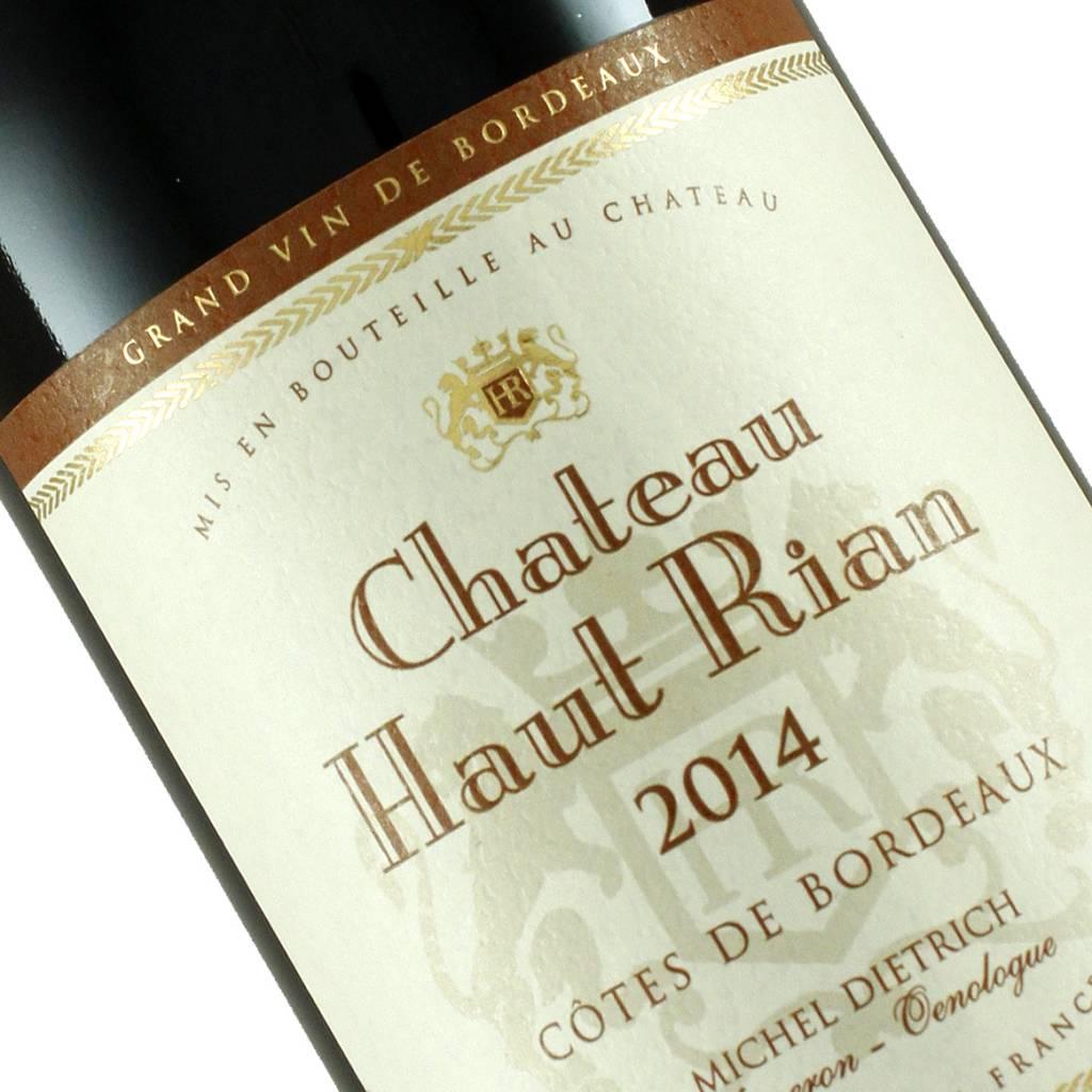 Chateau Haut Rian 2014 Red Bordeaux