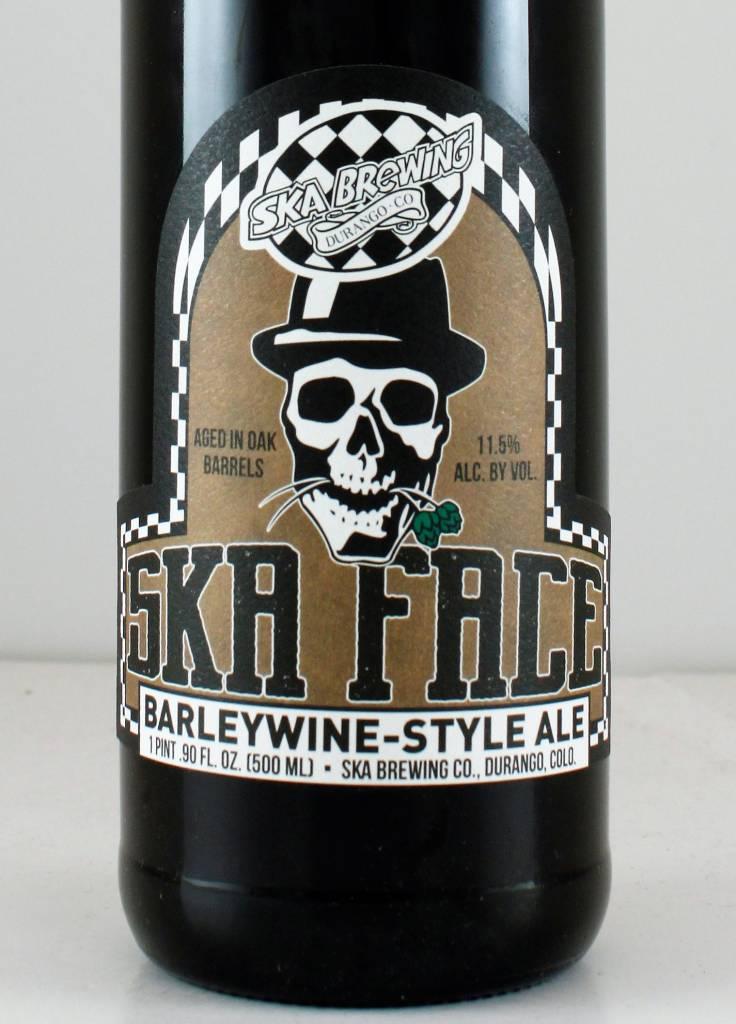 """SKA Brewing """"Ska Face"""" Ale"""