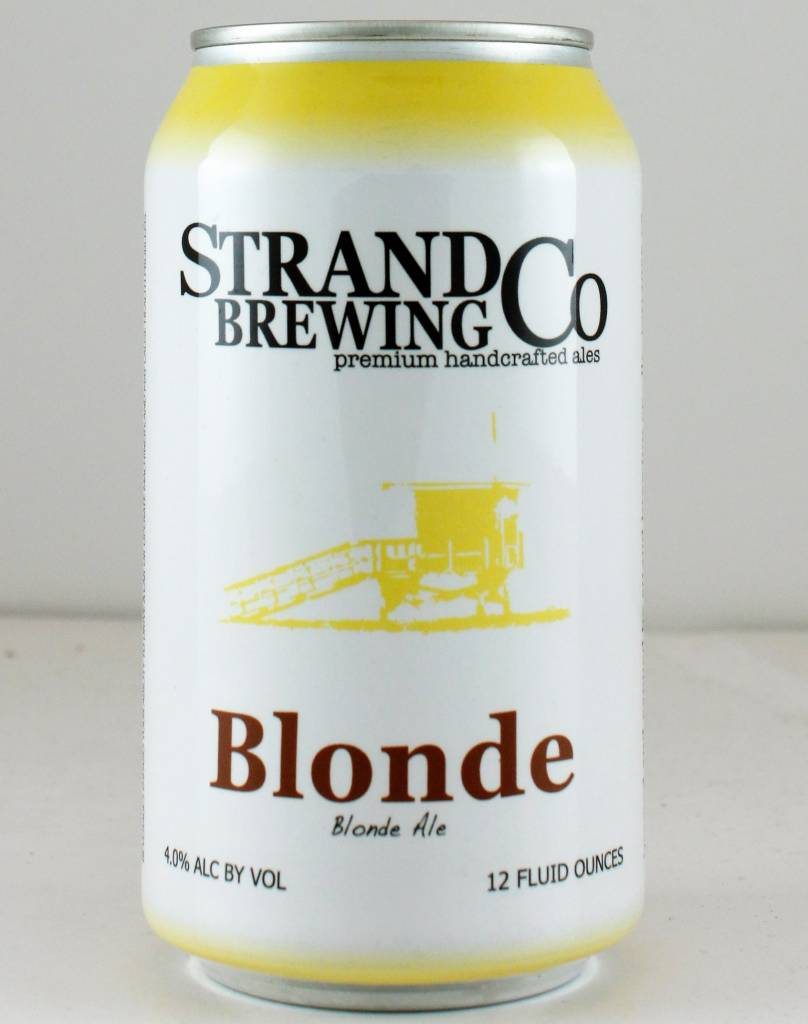 """Strand Brewing """"Blonde Ale"""" - 12oz can"""