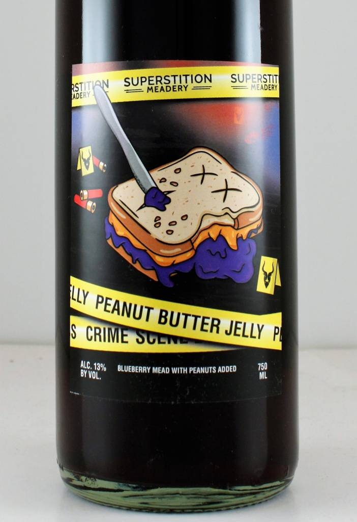 "Superstition Meadery ""Peanut Butter Jelly Crime Scene"""