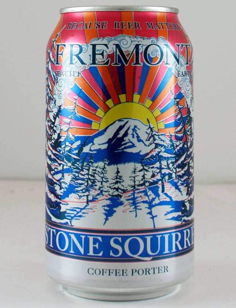 "Fremont Brewing ""Stone Squirrel Coffee Porter"", Washington - 12oz can"