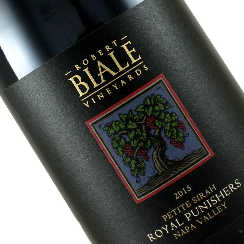 """Robert Biale Vineyards 2015 """"Royal Punishers"""" Petite Sirah, Rutherford Napa Valley"""