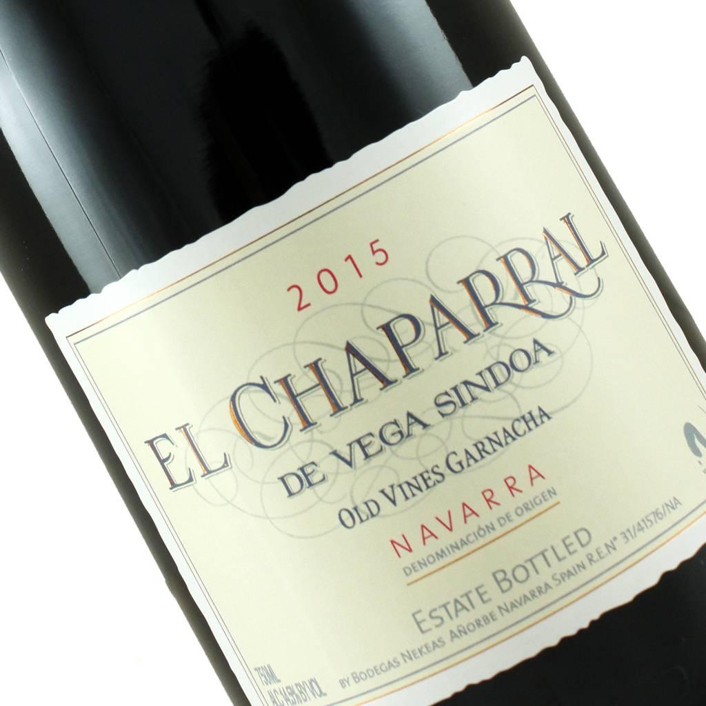 """Nekeas 2015 """"El Chaparral"""" Old Vines Garnacha, Navarra"""