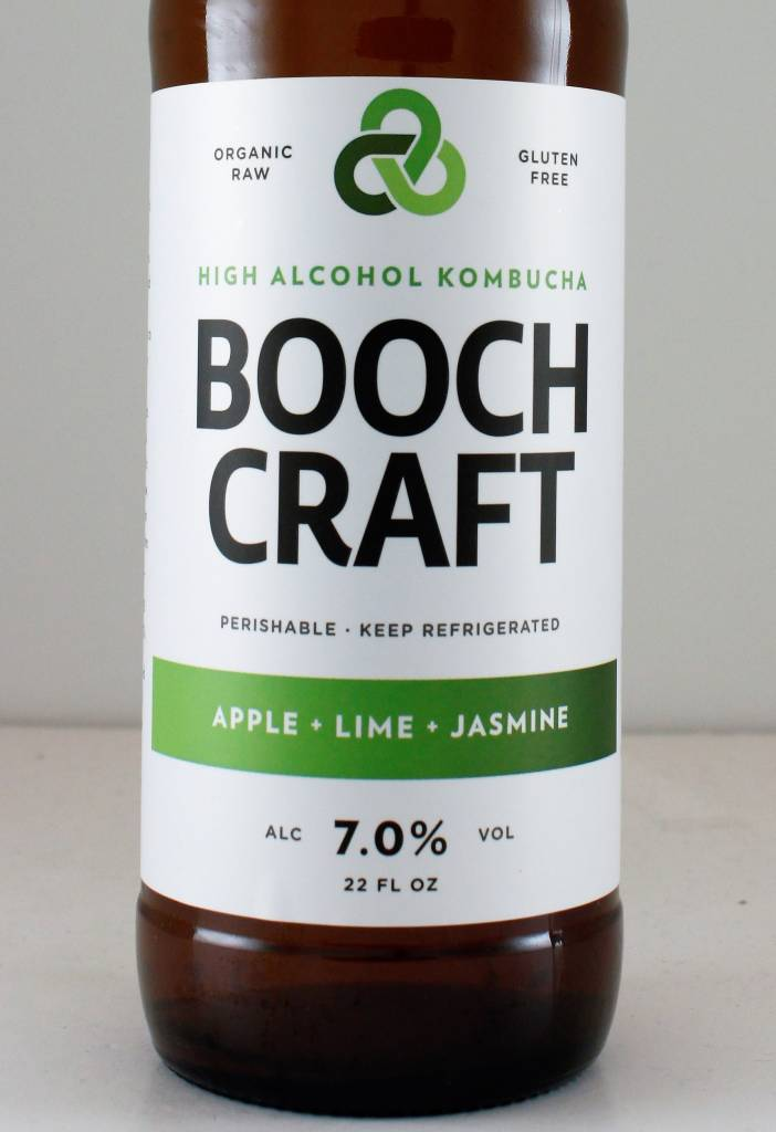 "Boochcraft ""Apple Lime Jasmine"" Kombucha"