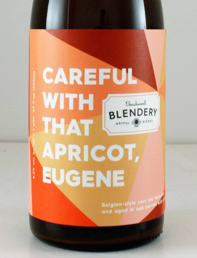 "Beachwood Blendery ""Careful With That Apricot, Eugene"" Sour, California - 500ml"