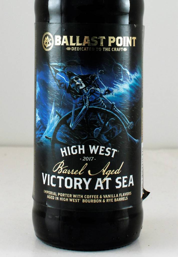 """Ballast Point Brewing """"High West Barrel Aged Victory at Sea"""" Porter - 12oz"""