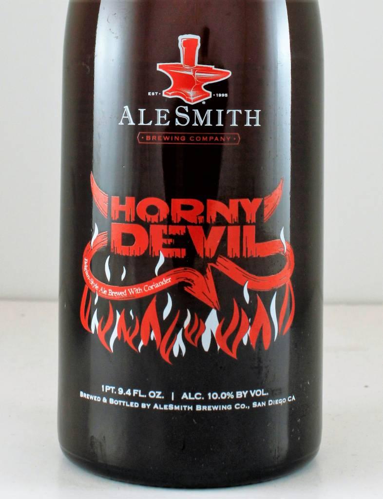 "AleSmith ""Horny Devil"" Belgian, California"