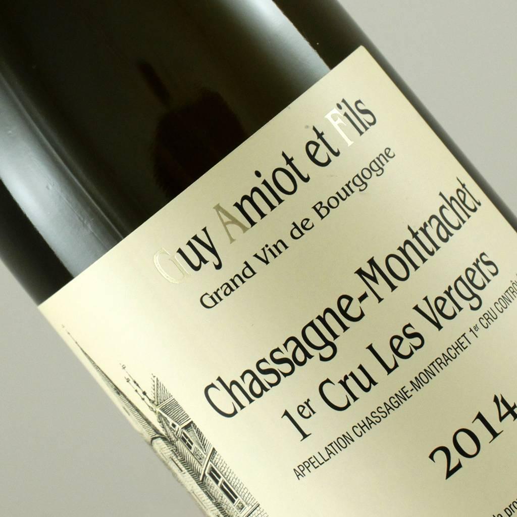 Guy Amiot 2014 Chassagne Montrachet 1er Cru Les Vergers, Burgundy