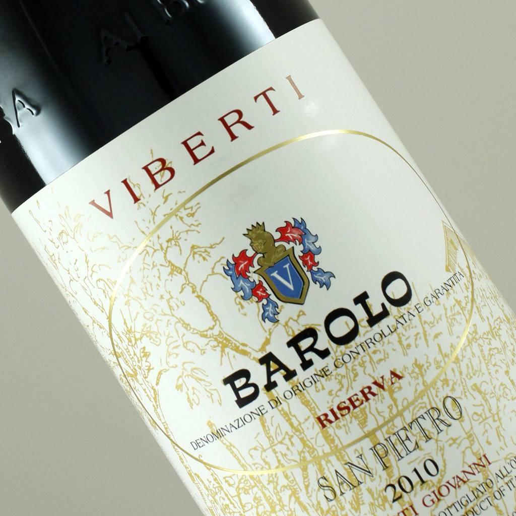 Viberti 2010 Barolo Riserva San Pietro, Piedmont