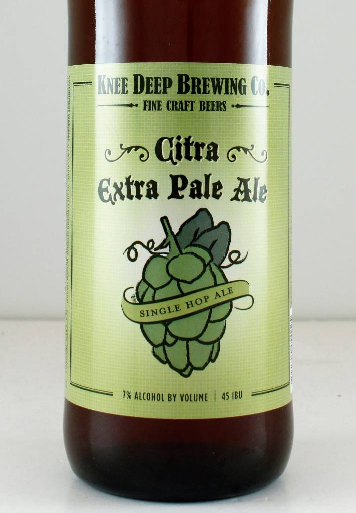 "Knee Deep Brewing ""Citra Extra Pale"", California"
