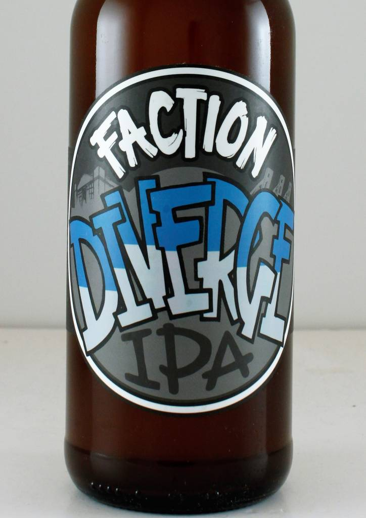 "Faction Brewing ""Diverge"" IPA, California"