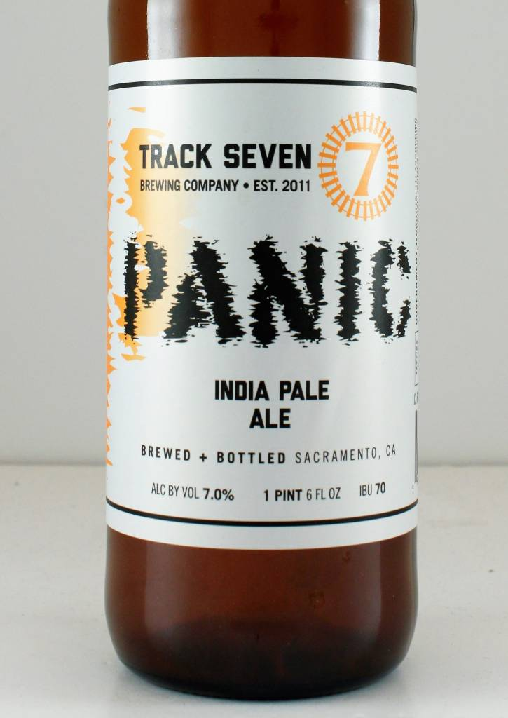 "Track 7 Brewing ""Panic IPA"", California - 22oz"