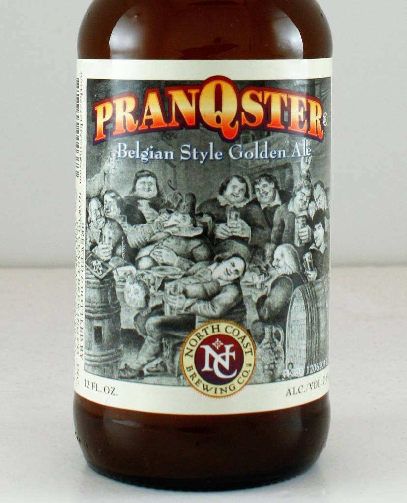 "North Coast Brewing ""Pranqster"" Belgian Style Golden Ale"