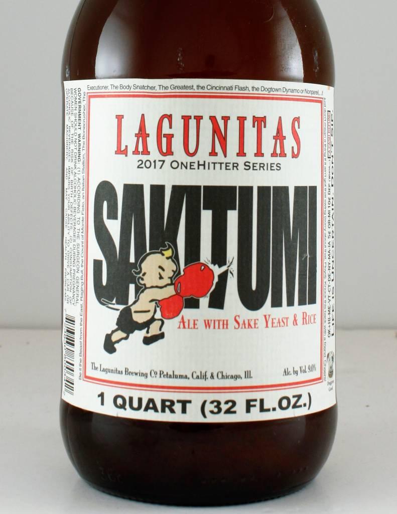 "Lagunitas Brewing ""Sakitumi"" IPA, California - 32oz"