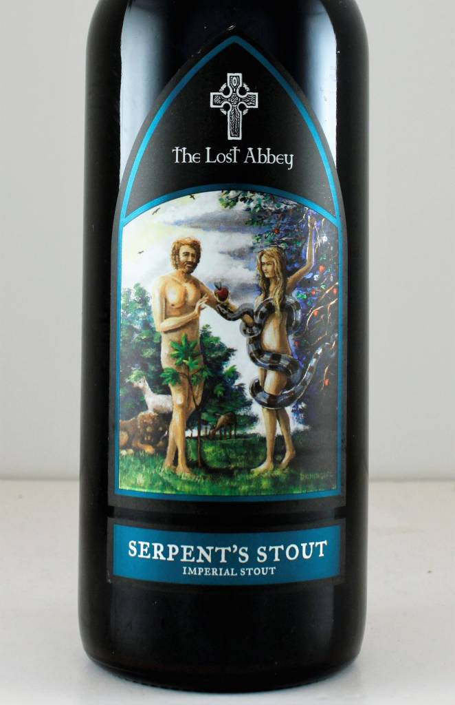 "Lost Abbey ""Serpent's Stout"", California"