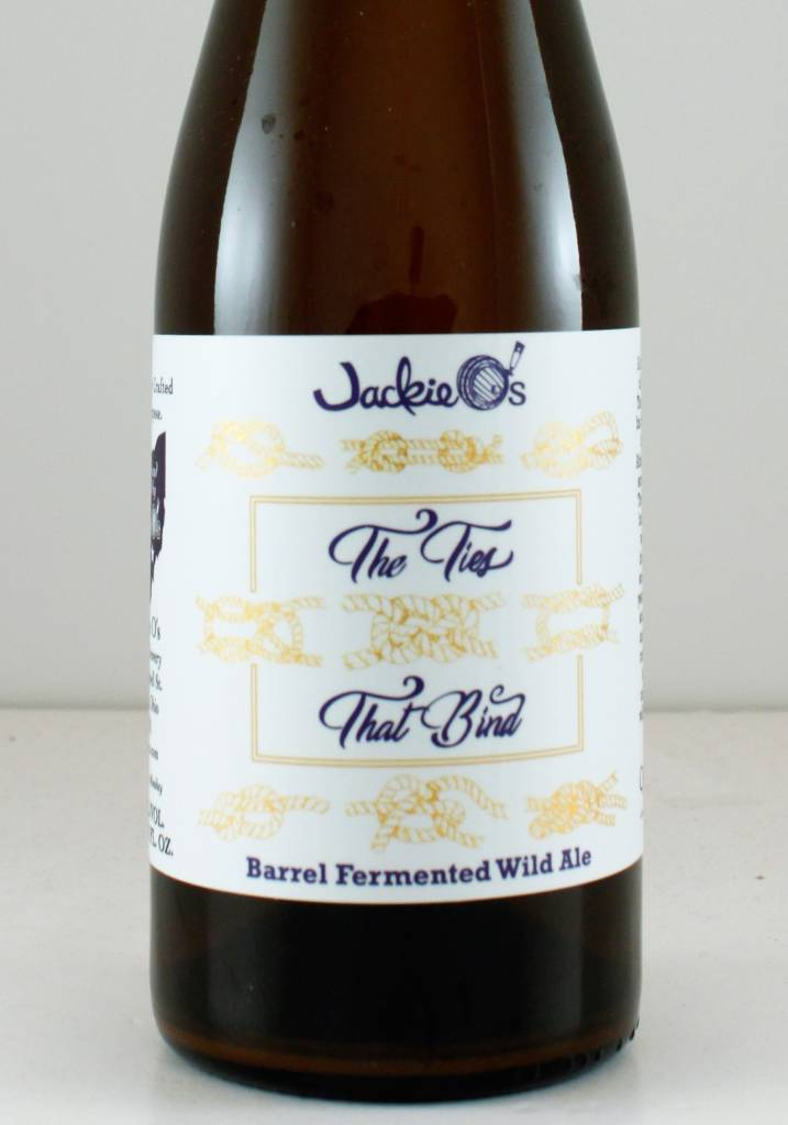 """Jackie O's/Crooked Stave """"Ties that Bind"""" Sour"""