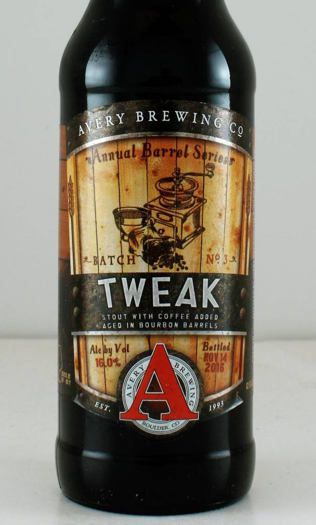 "Avery Brewing ""Tweak"" Coffee Stout, Colorado"