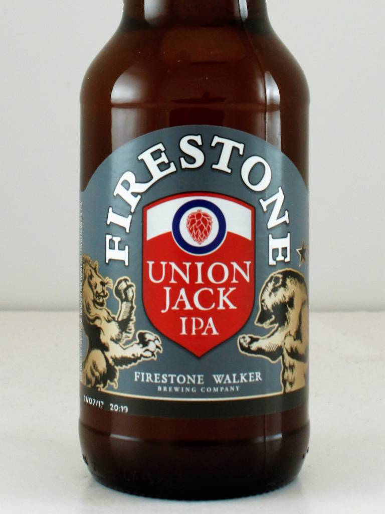 "Firestone Walker Brewing ""Union Jack"" IPA, California - 12oz"