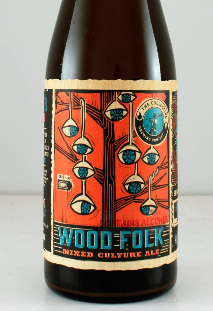 """Collective Brewing Project """" Wood Folk"""" Sour, Texas"""
