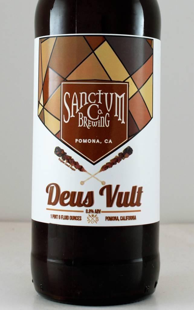 """Sanctum Brewing """"Deus Vult"""" Dubbel, California"""