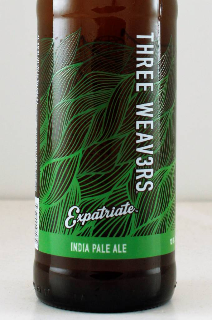 "Three Weav3rs ""Expatriate"" IPA, California - 12oz"