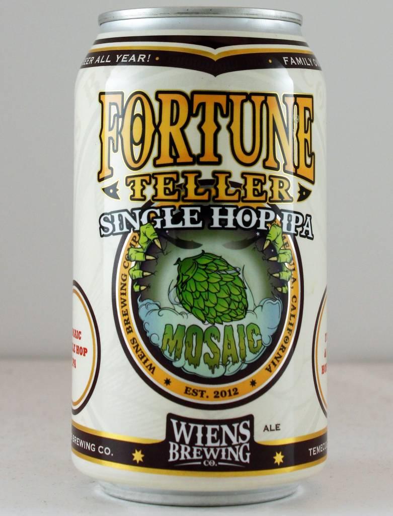 "Wiens Brewing ""Fortune Teller - Mosaic"" IPA, California"